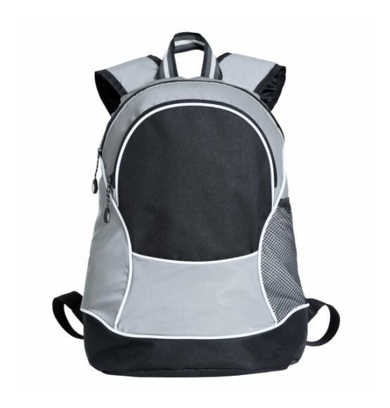 Clique Basic Backpack Reflective Grey